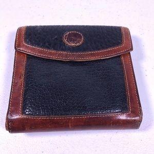 Vintage Dooney & Bourke Leather Coin Purse Wallet